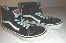 Kids size 2 black skateboard shoes (Vans)