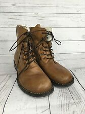 Mens Oliver Sweeney 'Verse' Leather Lace Up Boot - UK9 - Tan - Great Condition