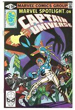 Marvel Spotlight Captain Universe #9 1980