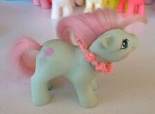 My Little Pony Cuddles Baby Pony Figure G1 MLP Vintage 1985 Hasbro w/ Necklace