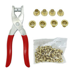 M01533 MOREZMORE Grommet Eyelet Pliers Tool 100 Eyelets 5 mm ID