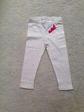 New Whisper White Silver Sparkle Leggings(Toddler,Girls) (2T,3T,4T,4,5,6,6x,7,8)