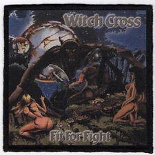 WITCH CROSS PATCH / SPEED-THRASH-BLACK-DEATH METAL