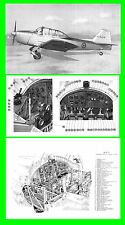 COLLECTION - MACCHI M416 AERMACCHI AIRCRAFT MACCHI FLIGHT MANUAL FOKKER S11 DVD