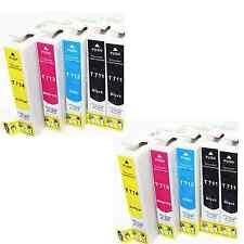 KIT 10 CARTUCCE COMPATIBILI PER EPSON STYLUS SX110 SX115 SX200  NERO E COLORE