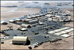 Maintenance City at Prince Sultan Air Base, Saudi Arabia 2000 8x12 Photo