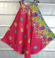 Hippy Boho Floral Tunic Kaftan Dress Ladies Top Free Size Summer Beach Top