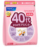 FANCL Supplement for women from 40's Health (15-30 days) Japan 30 packs