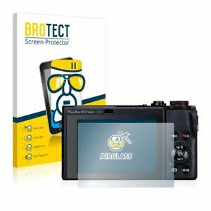 Canon Powershot G5 X Mark II, BROTECT® AirGlass® Premium Glass Screen Protector