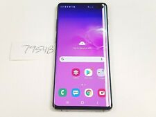 Samsung Galaxy S10+ SM-G975U - 128GB - Prism Black (Sprint-Unlocked) (7954B)