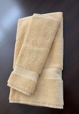 NWT Restoration Hardware 802-GRAM Turkish HAND TOWEL & WASH CLOTH - Light Maize