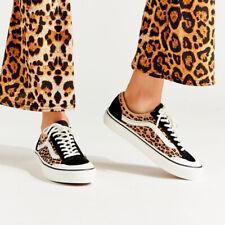 NEW Vans Style 36 Decon SF Mini Leopard Suede Leather Sneakers Shoes Women's 5