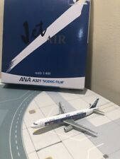 JET AIR 1:400 SCALE J-004 ANA A321 'SCENIC FILM' AIRPLANE BNIB