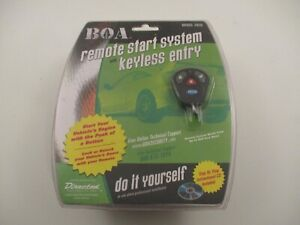 Sealed BOA Car Remote Start System w/ Keyless Entry Model 265B DIY Installation