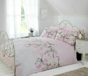 ELOISE  DOUBLE DUVET COVER SET IN PINK