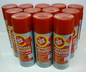 FLUID FILM RUST & CORROSION preventative spray - 12 cans 333G (11.75 oz)