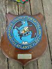 U.S. NAVY SEABEES NAVAL CONSTRUCTION BATTALIONS atlantic fleet Vintage Plaque