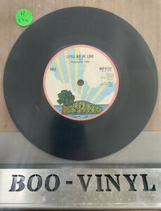 "FREE ~ LITTLE BIT OF LOVE / SAIL ON ~ 1972 UK 7"" SINGLE ~ ISLAND WIP-6129 EX CON"