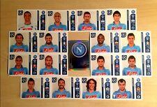 Champions league 2011/12 - Figurine stickers SSC Napoli squadra completa