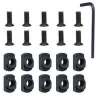 10 Packs M-LOK Screw and Nut Replacement Set for Rail Sections -  with Wrench