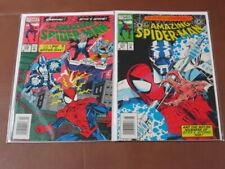 AMAZING SPIDER-MAN #376 - 377 FN COMPLETE STORY ORIGIN OF STYX & STONE CARDIAC