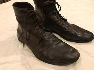 Officine Creative DYED CALFSKIN Lace Up Low Boots!