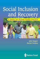 Social Inclusion and Recovery: A Model for Mental Health Practice-ExLibrary