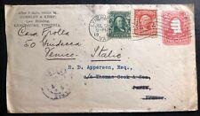 1905 Lynchburg Usa Advertising Stationery Cover to Venice Italy Horsley & Kemp