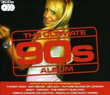 Various Artists - The Ultimate 90's Album - Various Artists CD 5MVG The Cheap