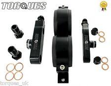 Twin Bosch 044 Fuel Pump Billet Aluminium Assembly KIT Without Pumps - BLACK