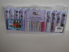 (2) Bead Storage Containers - Fits 12 Tube Containers Or For Crafts