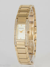 RELOJ VENDOUX MUJER ACERO DORADO MD13120 WOMENS NEW STEEL GOLD WATCH UHR 3 ATM