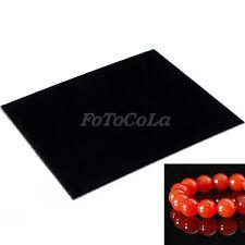 Black Photo Acrylic reflection board display platform