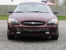 1986-2007 Ford Taurus Bright White Xenon Halogen Fog Lamp Driving Light Kit Pair