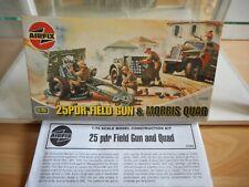 Modelkit Airfix 25PDR Field Gun & Morris Quad on 1:76 in Box