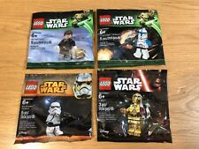 🔹 Sellado 🔹 Lego Star Wars Minifigura polybags Colección 🔹 Exclusivo/X4