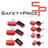 3x Interruptor Dip Switch 9 posiciones 9p ON OFF 2.54mm SP