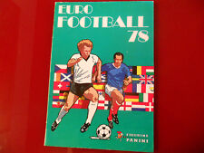 Album Figurine Panini Euro Football 78 Vuoto! Ottimissimo! Empty