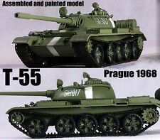 USSR army T-55 Russian tank Prague Spring 1968 1:72 finished Easy Model