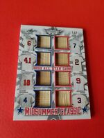 Mickey Mantle TED WILLIAMS Stan Musial MIZE FOX KLZ 8 Bat CARD #d1/2 LEAF LUMBER