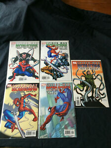 Spider-Man/Doctor Octopus: Out of Reach #1 - 5 by Colin Mitchell Lot of 5 VF