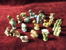 Lot of 21 Wade Figurines from Red Rose Tea, used, all in good condidtion