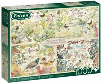 FOUR SEASONS Wild Birds & Flowers 1000 Piece Falcon deluxe Jigsaw Puzzle 11307