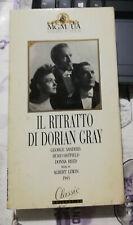 VHS IL RITRATTO DI DORIAN GRAY - george sanders oscar wilde albert lewin 1945