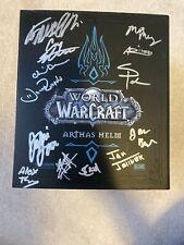 World Of Warcraft - Signed Box Arthas Helm - Blizzard Blizzcon 2008