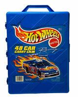 Hot Wheel 48 Car Carry Case Style No. 20020 Blue 1998 Tara Toy Corp.