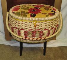 Vintage Singer Sewing Basket with Kit