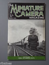 R&L Vintage Mag, The Miniature Camera March 1950, Dawe Miniflash/Zeiss Products