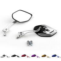 Motorcycle Mirrors Retrovisor 8mm 10mm Para Honda Suzuki Kawasaki KTM BMW ES