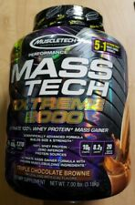 Muscletech  MASS TECH EXTREME 2000 - 7 lbs - Triple Chocolate Brownie Exp 4/2022